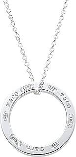 [蒂芙尼] TIFFANY 纯银 1837 圆环吊坠 中号 25049179