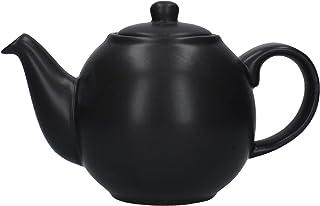 Dexam London Pottery 2 杯 手套茶壶 黑色