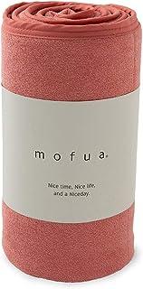 mofua Cool 触感舒适、柔软毛巾被 (可两面穿) 粉色 ダブル