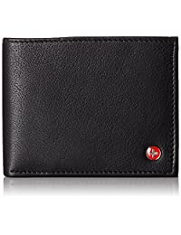 Alpine Swiss Mens Leather Flipout ID Wallet Bifold Trifold Hybrid