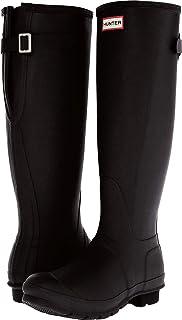 猎人靴女式原创后背可调节靴