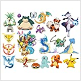Home Décor Ninyl Wall Stickers Pokemon Removable Wall Art Decals for Kids Boys Girls pokemon