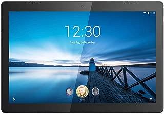 Lenovo 联想 Tab M10 25,5厘米(10,1英寸高清 IPS 触屏)平板电脑(Qualcomm Xperion 429 四核,2 GB 内存,16 GB eMCP,Wi-Fi,Android 9)黑色