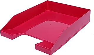 4 x A4 可堆叠字母托盘日落红色(粉色)