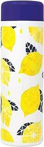 东亚金属 保温杯 野外琥珀椰子 旬果 不锈钢保温杯 水果 图案 柠檬黄 480ml 445-103