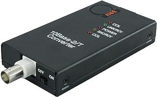 10BaseT RJ45 UTP to 10Base2 Thinnet 同轴 BNC 媒体转换器 | 以太网适配器 10Base-T/2