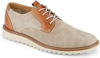 Dockers 男士 Edison 智能系列连衣裙休闲帆布牛津鞋 NeverWet