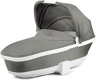 Quinny 折疊嬰兒車配件 適用于Senzz Buzz Buzz Xtra和Moodd 系列產品 車載睡籃 grey gravel