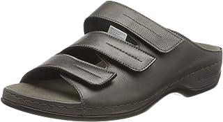 Berkemann 女式 Andrea 拖鞋,金属灰色,8 英国尺码