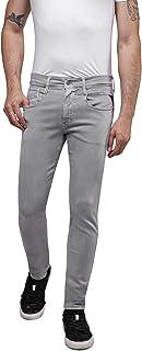 REPLAY Anbass,男士牛仔裤修身,常规腰围,时尚的 Hyperflex 弹力牛仔裤,男式牛仔布牛仔裤,尺码:27-40