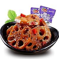 口水娃 香辣味莲藕300g袋 独立小包装 零食小吃 下饭菜