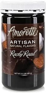 Amoretti Natural Artisan, Rocky Road, 2.2 Pound