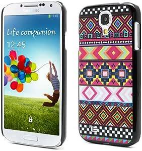 三星Galaxy S4 I9500 I9502 I337 部落部落条纹哑光硬质保护壳