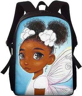 可爱幼儿背包适合男孩女孩1-5岁幼儿园儿童书包非洲艺术绘画打印 African 01a 均码