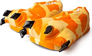 Katara (多种设计/尺码) 1773 – Tatzen 拖鞋不同设计与图案 – 暖和柔软 – 温暖的羊皮,拖鞋,ONESIZE 9 Jahre to 99 Jahre 29-36 Orange/Beige