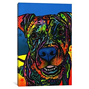"""iCanvasART Maccabee Canvas Print by Dean Russo, 40"""" x 26""""/0.75"""" Deep"""