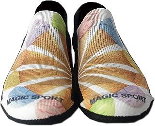 Magic Sport 女士彩色及踝袜 | 防异味加垫标签隐形低筒袜