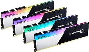 G.SKILL 芝奇 DIMM 64 GB DDR4-3600四组件内存模块F4-3600C16Q-64Gtznc