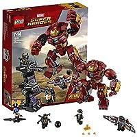 LEGO 乐高 拼插类玩具 Super Heroes超级英雄系列 反浩克装甲 76104 7-14岁 积木玩具
