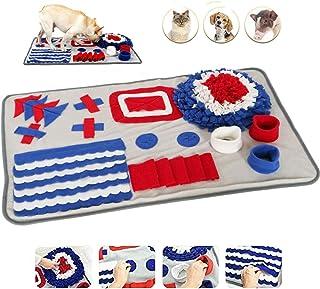 Vehipa Snuffle 垫,适用于小型大型犬的喂食垫,宠物拼图玩具耐用互动鼓励天然觅食技巧