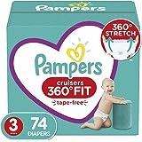 Pampers 尿布 - Cruisers 360 度度一次性嬰兒尿布,帶彈性腰帶,*包裝 Cruisers 3 74