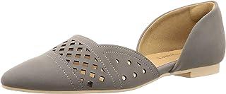 Reverty Dearl 穿上时的剪裁漂亮的平跟浅口鞋/5575 5575 女款