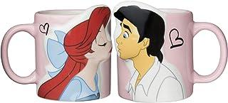 Disney 迪士尼 唐老鸭&黛丝亲吻造型 情侣马克杯 SAN2473