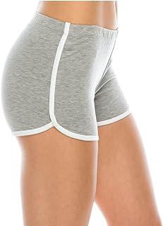 EttelLut 折叠式/常规短裤舞蹈瑜伽性感运动海豚短裤