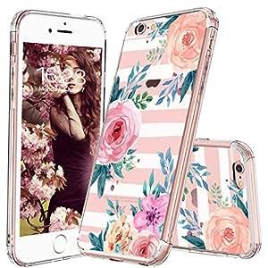 iPhone 6 Plus/ 6S Plus 花朵手机壳 Stripe Flower