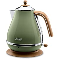 De'Longhi 德龙 Icona复古系列电水壶-橄榄绿 2000W(意大利品牌 香港直邮)