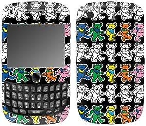 MusicSkins, MS-GRFL10211, Grateful Dead - Dancing Bears, BlackBerry Curve 3G (9300/9330), Skin