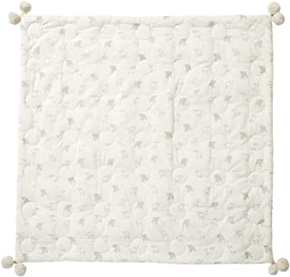 Pehr Little Lamb Quilted Pom Pom Blanket