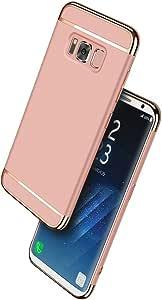 三星 Galaxy S8 Plus 3 合 1 手机壳 玫瑰金