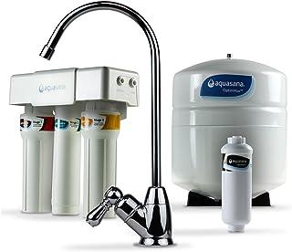 Aquasana AQ-RO-3.56 OptimH2O 反渗透氟 水过滤器 铬质