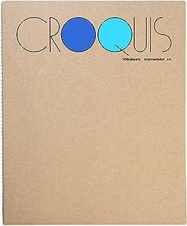 Maruman 優質繪畫墊和書籍 M - 藍色封面
