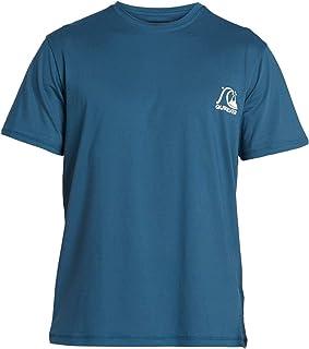 Quiksilver 男士 Heritage - 短袖冲浪 T 恤 UPF 50 男士 S/sl T 恤