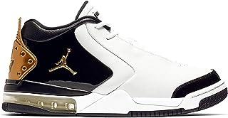 Jordan Air 大军优质白金属金黑色男式篮球鞋