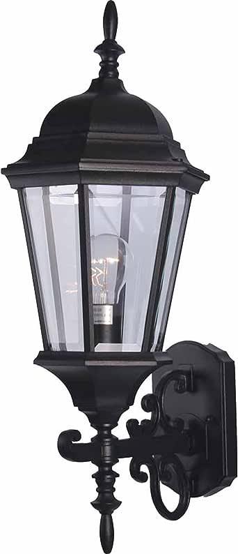 Volume Lighting V8211-5 单灯户外壁灯,黑色