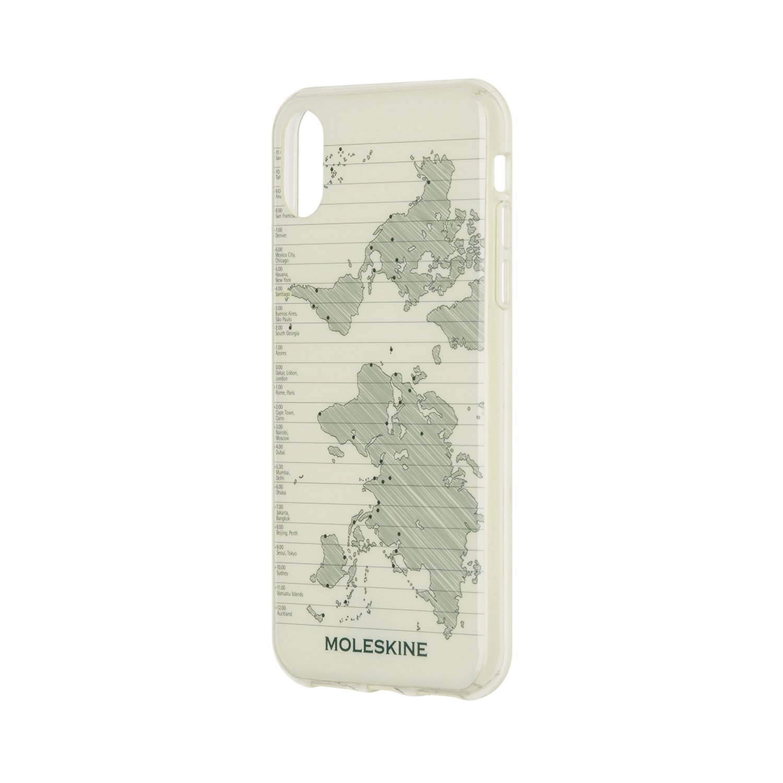 Moleskine Journey Geo Iphone 10 Hard Case