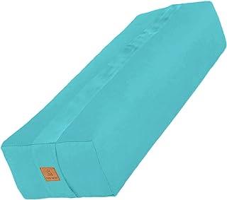 Buckwheat 冥想垫子 - 新月或圆形 Zafu 瑜伽枕 - 7 种颜色 ¬ 带拉链有机棉套和衬垫,可添加或拆除绿巨人 – 可机洗提手和有机纺织品认证