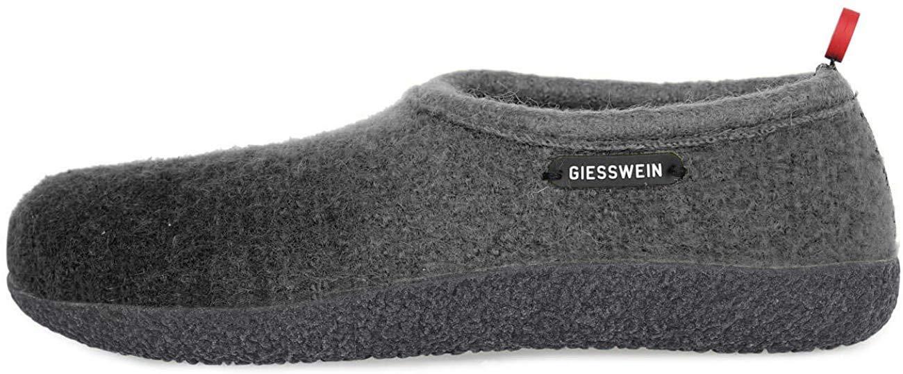 Giesswein - Vahldorf 封闭式毛毡拖鞋适用于男性和女性的可换鞋垫,温暖中性 - 居家鞋,拖鞋,带稳定鞋底,防滑,赤脚感
