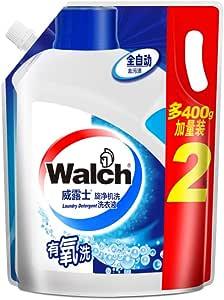 Walch威露士 旋净机洗全自动有氧洗洗衣液2kg袋装