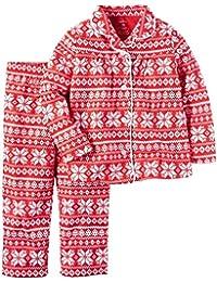 Carter ' s 女童羊毛雪花睡衣,2件套
