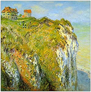 "ArtPlaza Cliffs by Monet Claude 装饰板 - Parent 19.7"" x 19.7"" AS91731"