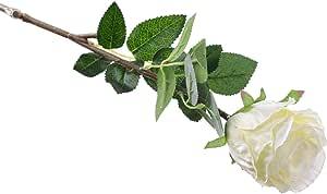 AlphaAcc 人造花主聚会婚礼装饰 Long White X 3 XF2017122515