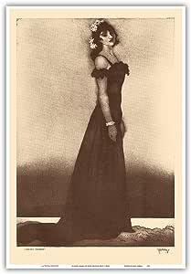 "Holoku, 夏威夷 - 来自夏威夷人蚀刻和绘图 - John Melville Kelly 创作的复古 Drypoint 蚀刻 c.1940s - 艺术大师印刷品 13"" x 19"" PRTC1155"