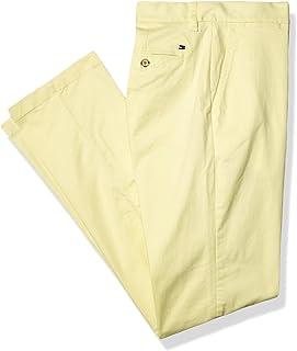 Tommy Hilfiger 男式斜纹棉布裤,定制修身款