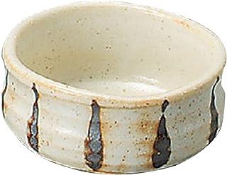 山下工艺(Yamasita craft) 志野生长十草抹茶型小碗 8.7×8.7×4.6cm 11096440