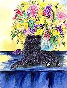 Caroline's Treasures Affenpinscher Flag Made or Printed in the USA 多色 大