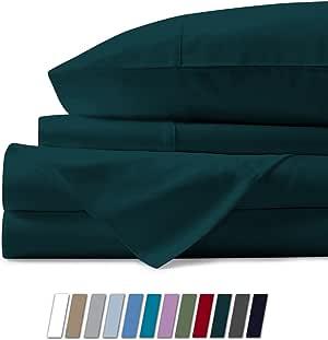 mayfair 亚麻床上用品系列600支床单 埃及长绒棉床单套件棉缎编织深口高品质床上用品套装